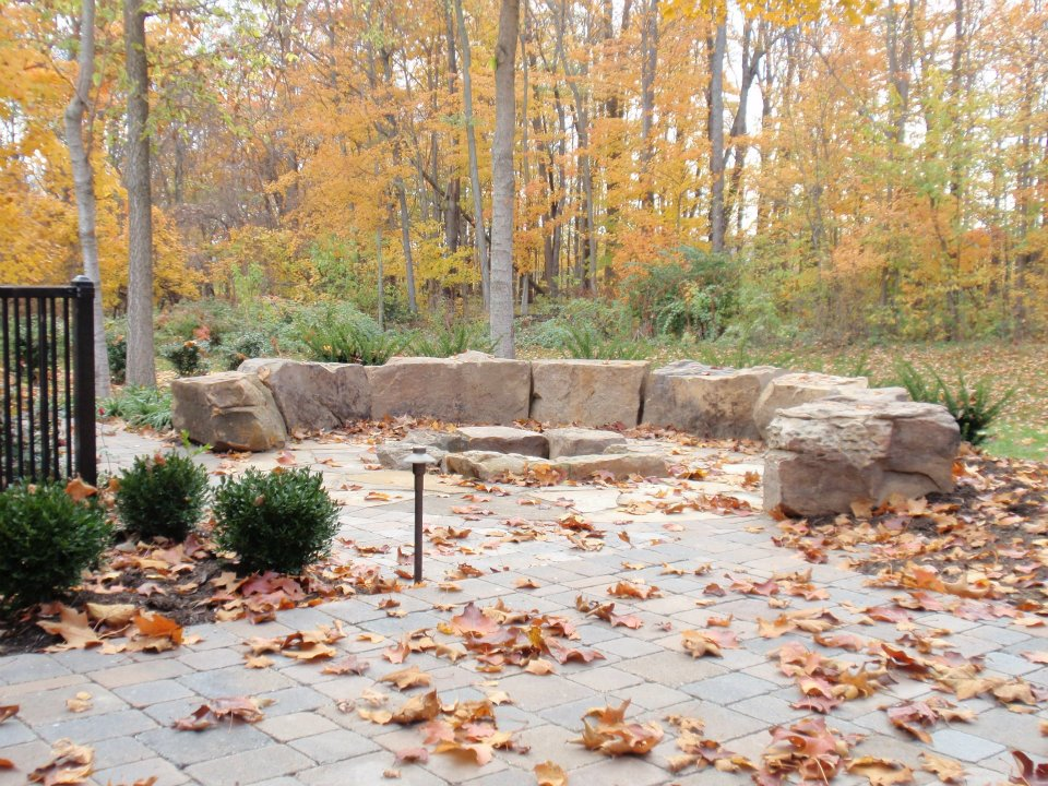 Landscape Seating with Indian Creek Boulders