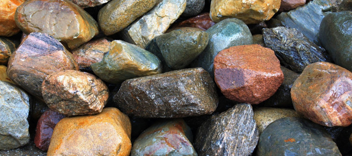 Glacial Granite Boulders Up To 24″