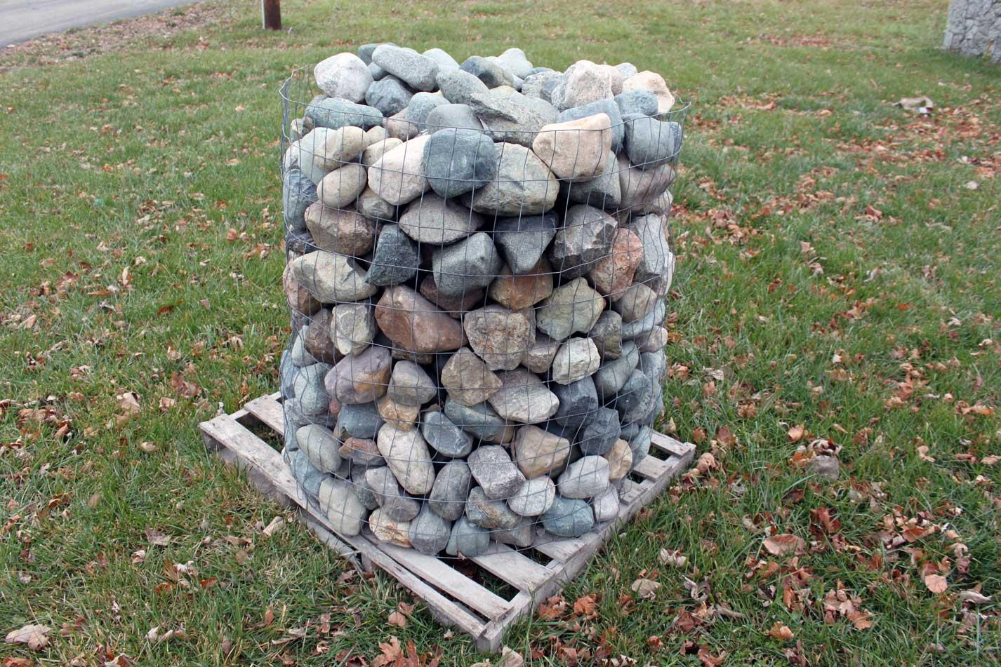 Glacial Granite Cobbles