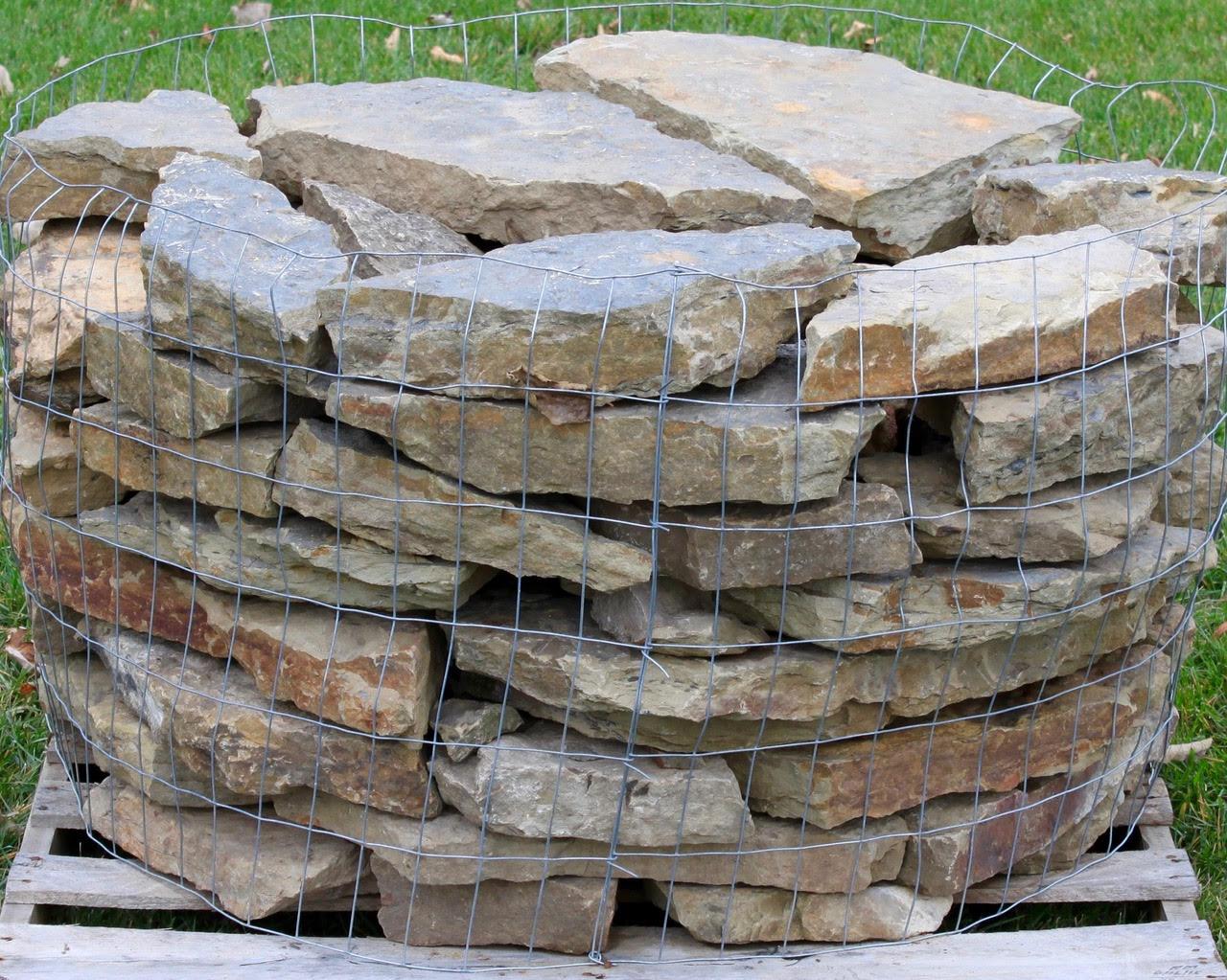 Ozark Weathered Retaining Wall | Green Stone Company | Noblesville, Indiana
