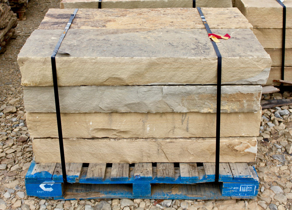 Colfax Snapped Steps | Green Stone Company | Noblesville, Indiana
