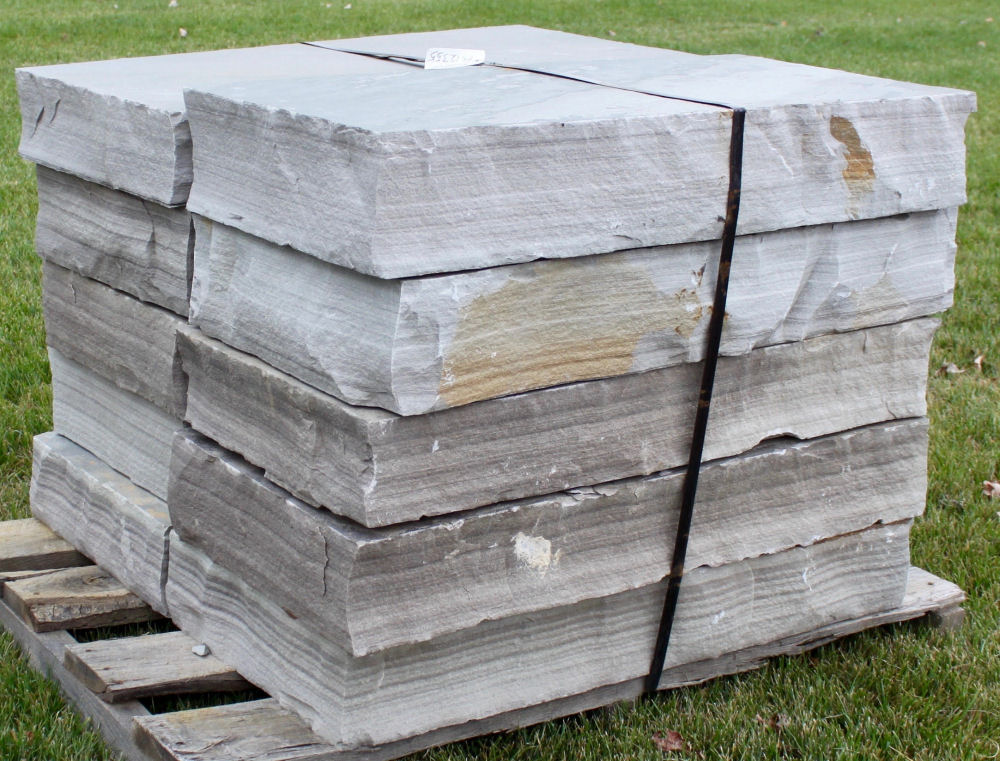 Cumberland Mt. Blue Snapped Steps | Green Stone Company | Noblesville, Indiana