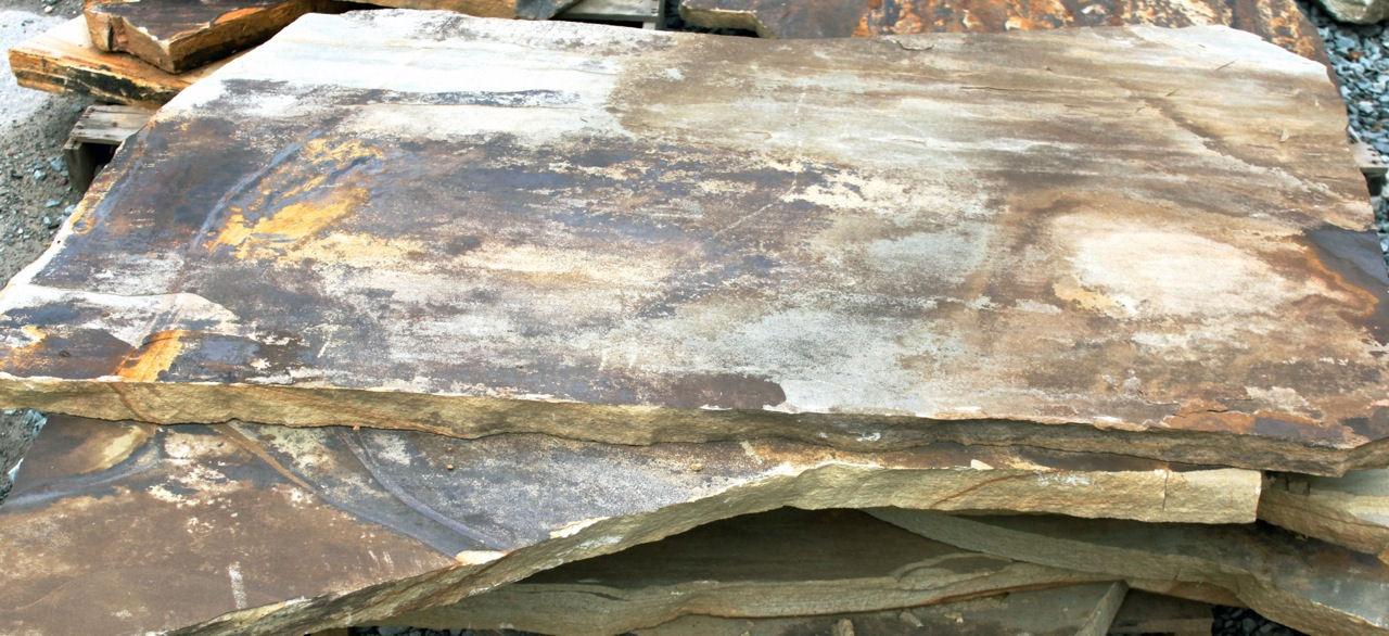 """Cumberland Mt. Brown 2"""" – 3"""" Slabs"""