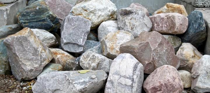 Glacial Granite XL Boulders (24″ and Larger)
