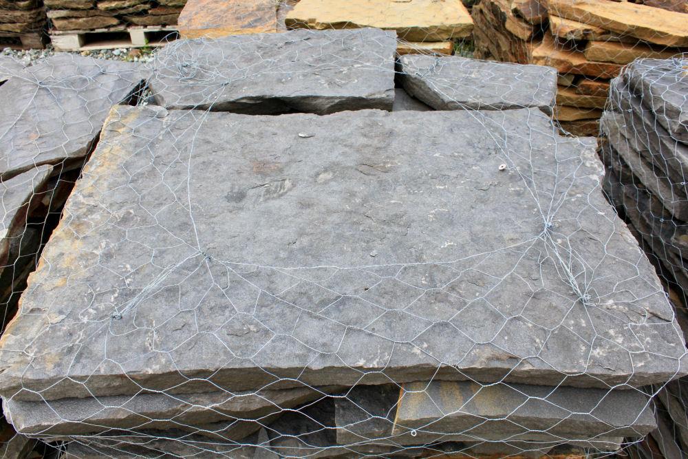 Tamaha Blue 2 Inch Flagstone | Green Stone Company | Noblesville, Indiana