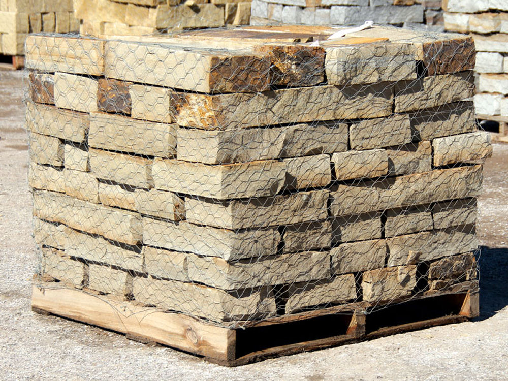 Colfax 8 inch Snapped Wall | Green Stone Company | Noblesville, Indiana