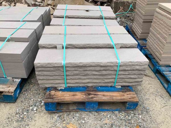 indiana-limestone-rock-faced-12-inch-wall-cap-greenstone-natural-stone-supplier-landscape-supply