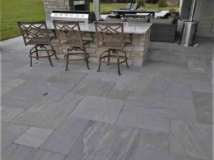 Patterned Patio Stone