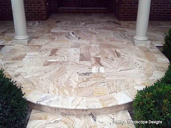leonardo-travertine-entryway-pool-deck-stone-patterned-natural-stone-supplier-greenstone-hardscape-supply
