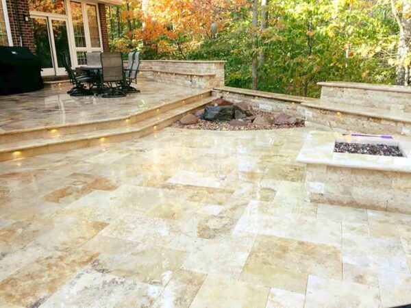 tuscany-fire-pit-travertine-patio-pool-deck-stone-patterned-natural-stone-supplier-greenstone-hardscape-supply